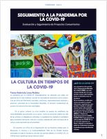 LA CULTURA EN TIEMPOS DE LA COVID-19